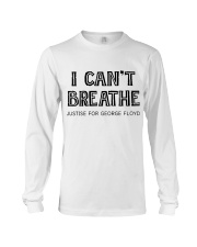 I Can not Breathe Long Sleeve Tee thumbnail