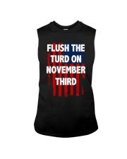 Flush The Turd On November Third Sleeveless Tee thumbnail