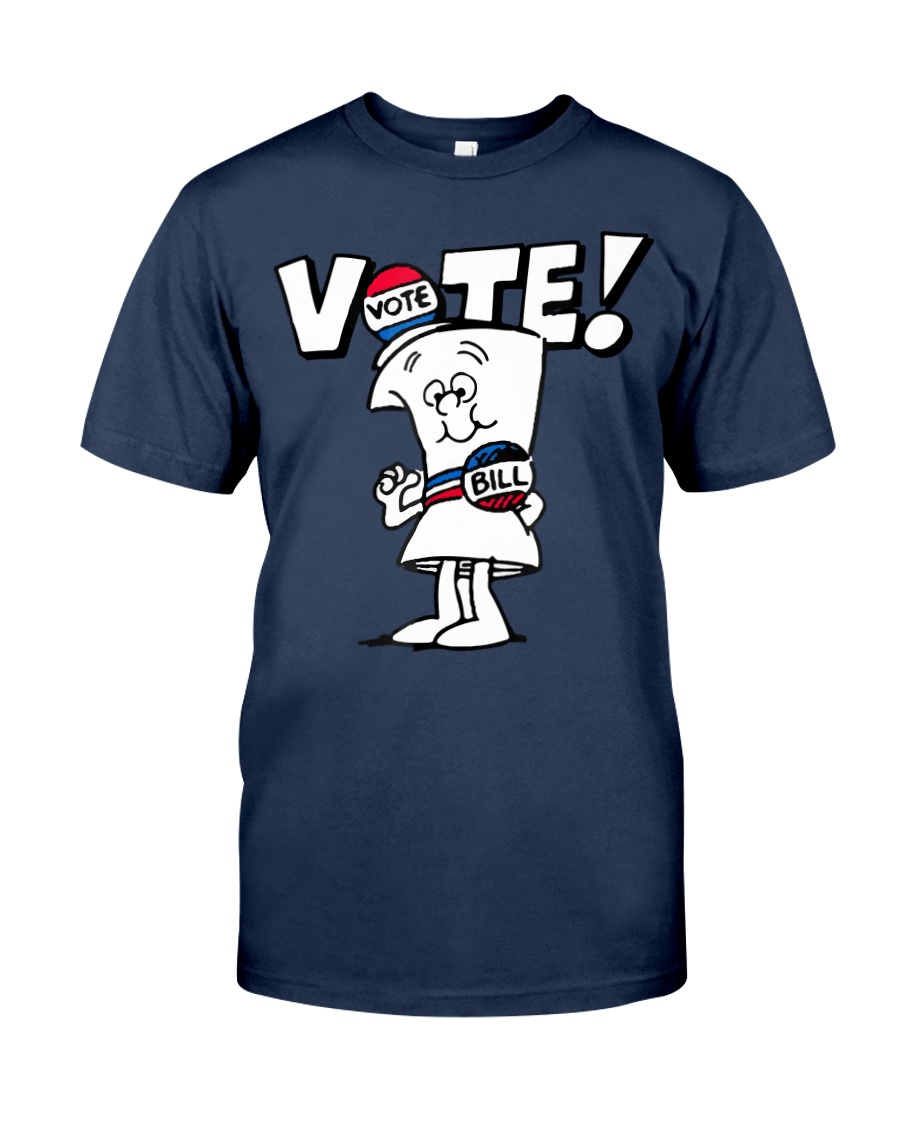 Ripple Junction Schoolhouse Rock Vote with Bill Ad Classic T-Shirt