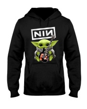 Baby Yoda Guitar Hooded Sweatshirt thumbnail