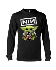 Baby Yoda Guitar Long Sleeve Tee thumbnail