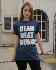 Dead Beat Dung Classic T-Shirt apparel-classic-tshirt-lifestyle-19