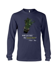 Will You Take The Green Herb Long Sleeve Tee thumbnail