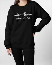 when there are nine Crewneck Sweatshirt apparel-crewneck-sweatshirt-lifestyle-front-09