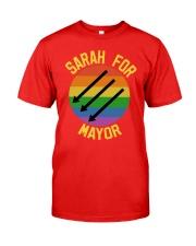 Sarah For Mayor Classic T-Shirt front