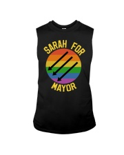 Sarah For Mayor Sleeveless Tee thumbnail