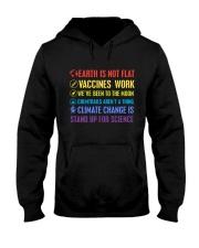 Earth is not flat Hooded Sweatshirt thumbnail