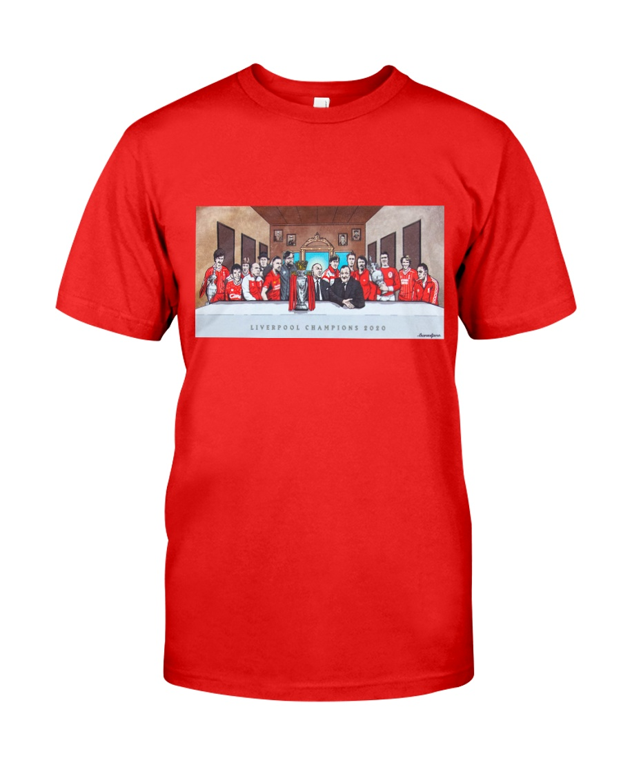 Liverpool finally clinched their 19th league Classic T-Shirt