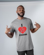 I LOVE FISHING Classic T-Shirt apparel-classic-tshirt-lifestyle-front-32