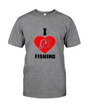 I LOVE FISHING Classic T-Shirt thumbnail