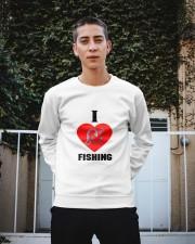 I LOVE FISHING Crewneck Sweatshirt apparel-crewneck-sweatshirt-lifestyle-01