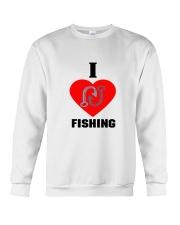 I LOVE FISHING Crewneck Sweatshirt front