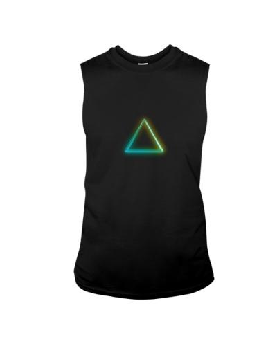 Neon Triangle Rave Attire