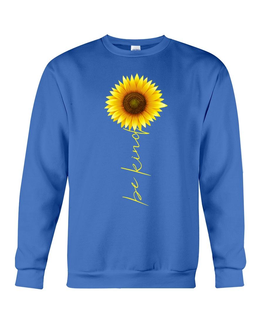 Autism Be Kind Sunflower Crewneck Sweatshirt