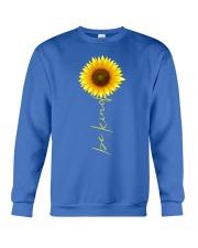 Autism Be Kind Sunflower Crewneck Sweatshirt front
