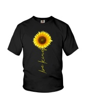 Autism Be Kind Sunflower Youth T-Shirt thumbnail