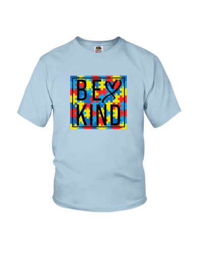 Autism Be Kind Cute Square Box