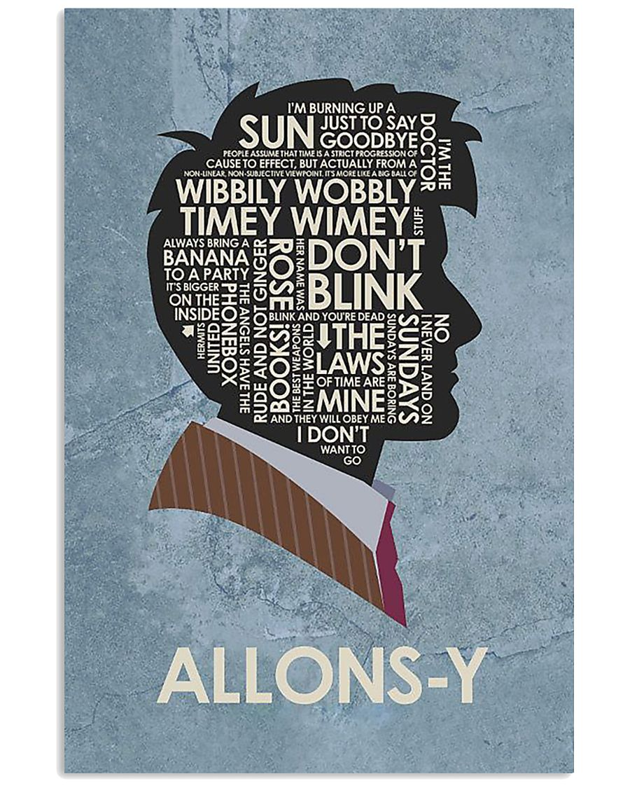 Limited Edition - Allons-Y 11x17 Poster