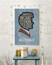 Limited Edition - Allons-Y 11x17 Poster lifestyle-holiday-poster-3