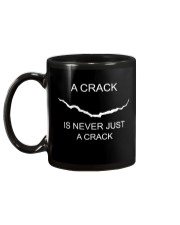 A Crack Is Never Just A Crack Mug back