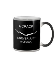 A Crack Is Never Just A Crack Color Changing Mug thumbnail