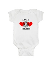 Little Time Lord Onesie front