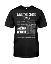 Save the Clock Tower Classic T-Shirt front