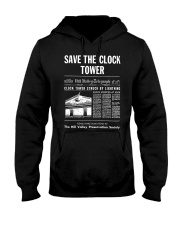 Save the Clock Tower Hooded Sweatshirt thumbnail