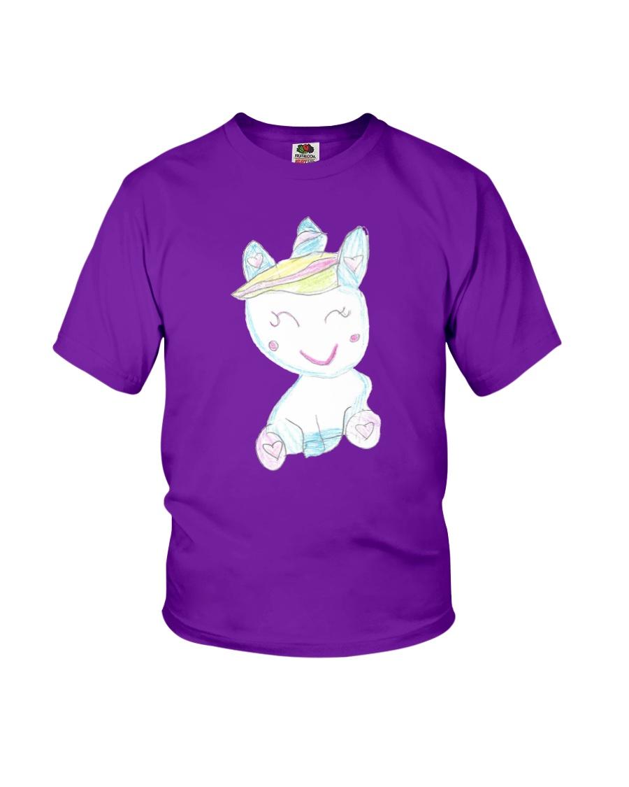 Sofia's Unicorn Drawing Youth T-Shirt