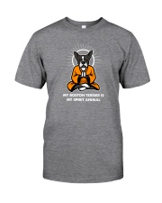 My Boston Terrier is my Spirit Animal Classic T-Shirt thumbnail