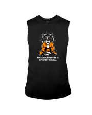 My Boston Terrier is my Spirit Animal Sleeveless Tee thumbnail