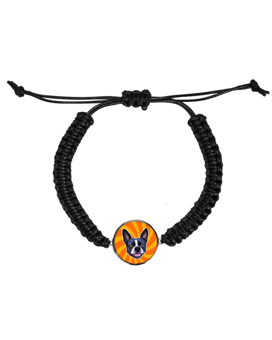 Be My Boston - Orange Boston Cord Circle Bracelet