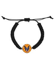 Be My Boston - Orange Boston Cord Circle Bracelet front