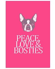 Peace Love and Bosties  11x17 Poster thumbnail