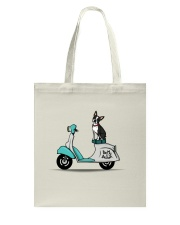 Boston Terrier Scooter Scooter Tote Bag thumbnail