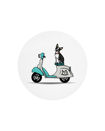 Boston Terrier Scooter Scooter