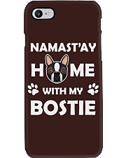 Namst'ay Home With My Bostie Phone Case thumbnail