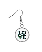 Boston Love - Sugar Skull Jewelry  Circle Earrings thumbnail