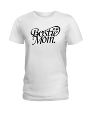 Bostie Mom Ladies T-Shirt thumbnail