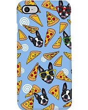 Boston Terrier Pizza Pizza Phone Case i-phone-7-case