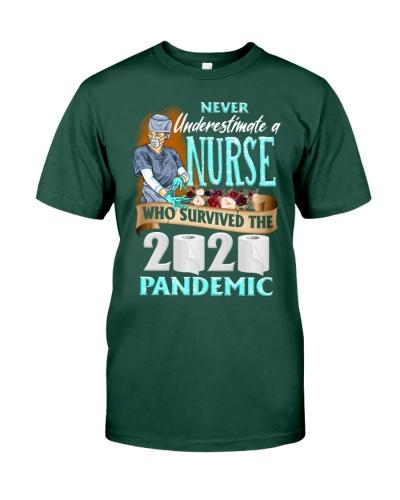 Never Underestimate A Nurse 2020 Shirt