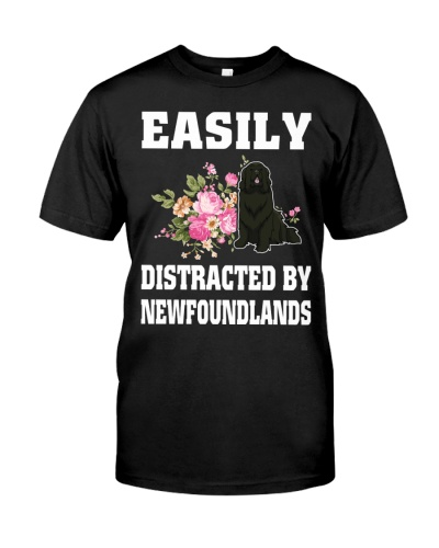 EASILY DISTRACTED BY NEWFOUNDLANDS