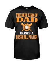 Baseball DAD - Don't Miss Out Classic T-Shirt front