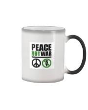 Peace-Not-War Color Changing Mug thumbnail