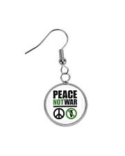 Peace-Not-War Circle Earrings thumbnail
