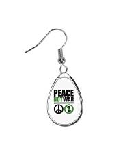 Peace-Not-War Teardrop Earrings thumbnail