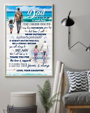 To Dad - I Love You - 11x17 Poster lifestyle-poster-1