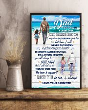 To Dad - I Love You - 11x17 Poster lifestyle-poster-3