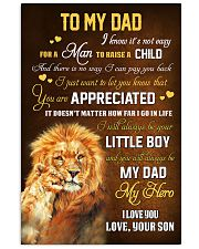 To Dad - Forever My Dad 11x17 Poster front