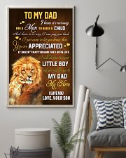 To Dad - Forever My Dad 11x17 Poster lifestyle-poster-1
